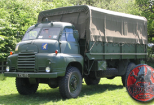 Bedford RL Troop Carrier