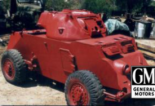 T17 E1 Staghound Armoured Car (M6)