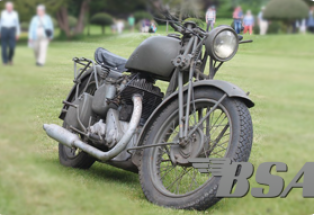 BSA WD M20 Motorcycle