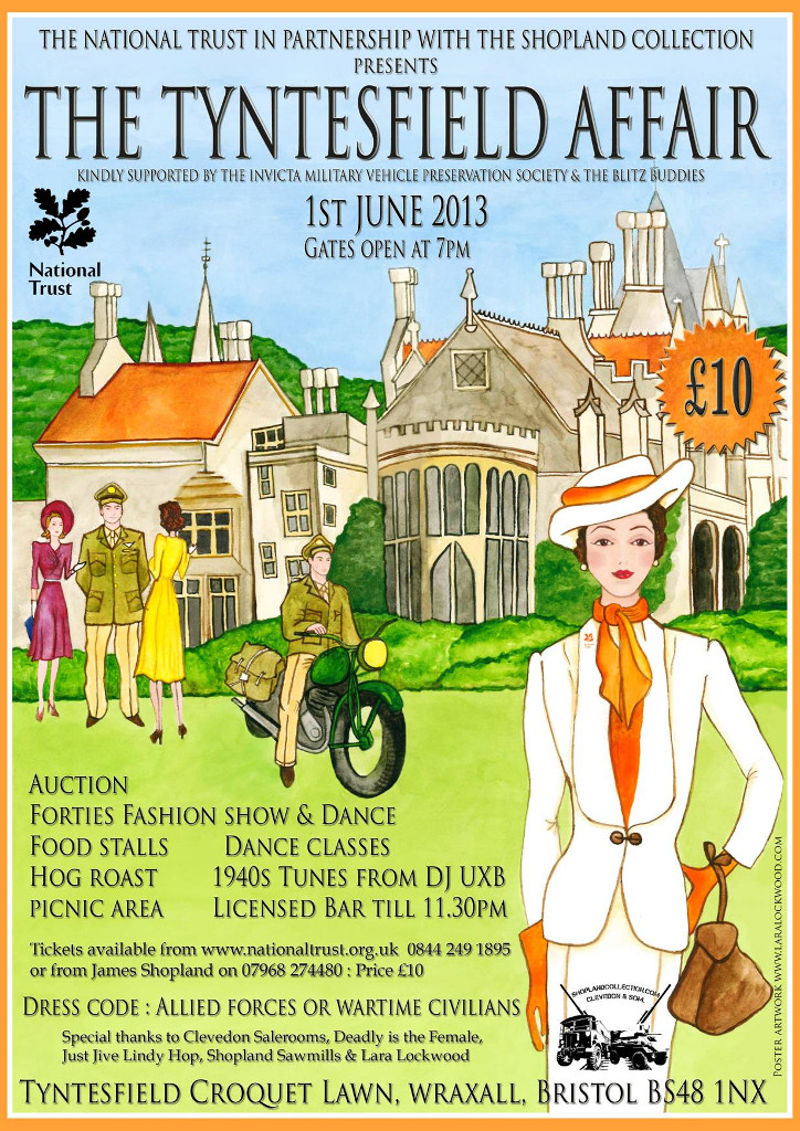 Tyntesfield Affair Poster 2013