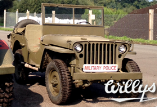 Willys MB Jeep 'The Little Lady'