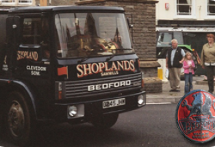 Bedford TL Timber Truck